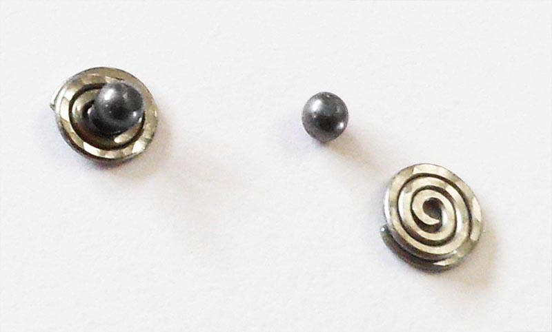NON-ALLERGENIC TITANIUM BALL POST EARRINGS BUFFERS