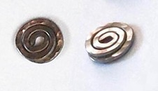 TITANIUM ALLOY FREE BUFFERS FOR POST EARRINGS