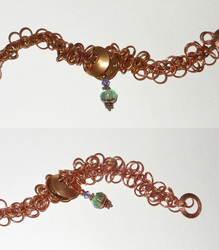 Copper jewelry by Linda L. Landauer