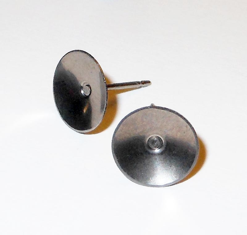 No Nickel Studs Posts Pure Titanium Earrings For